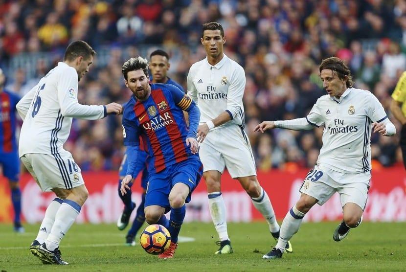 Messi contra el Real Madrid
