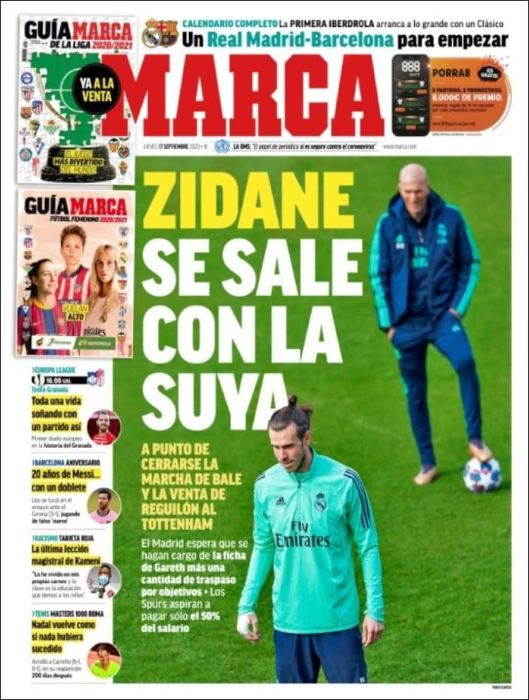 Portada Marca Zidane gana
