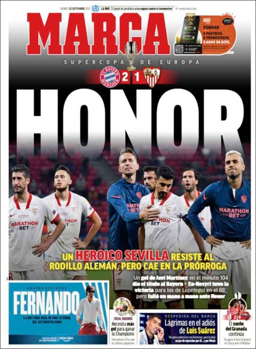 Portada Marca Sevilla Bayern