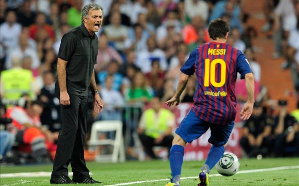 Mourinho y Messi