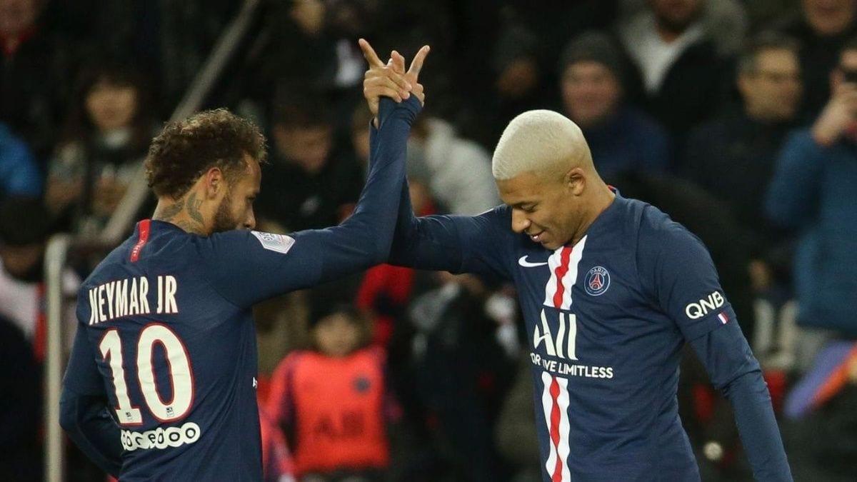 Neymar y Mbappé..
