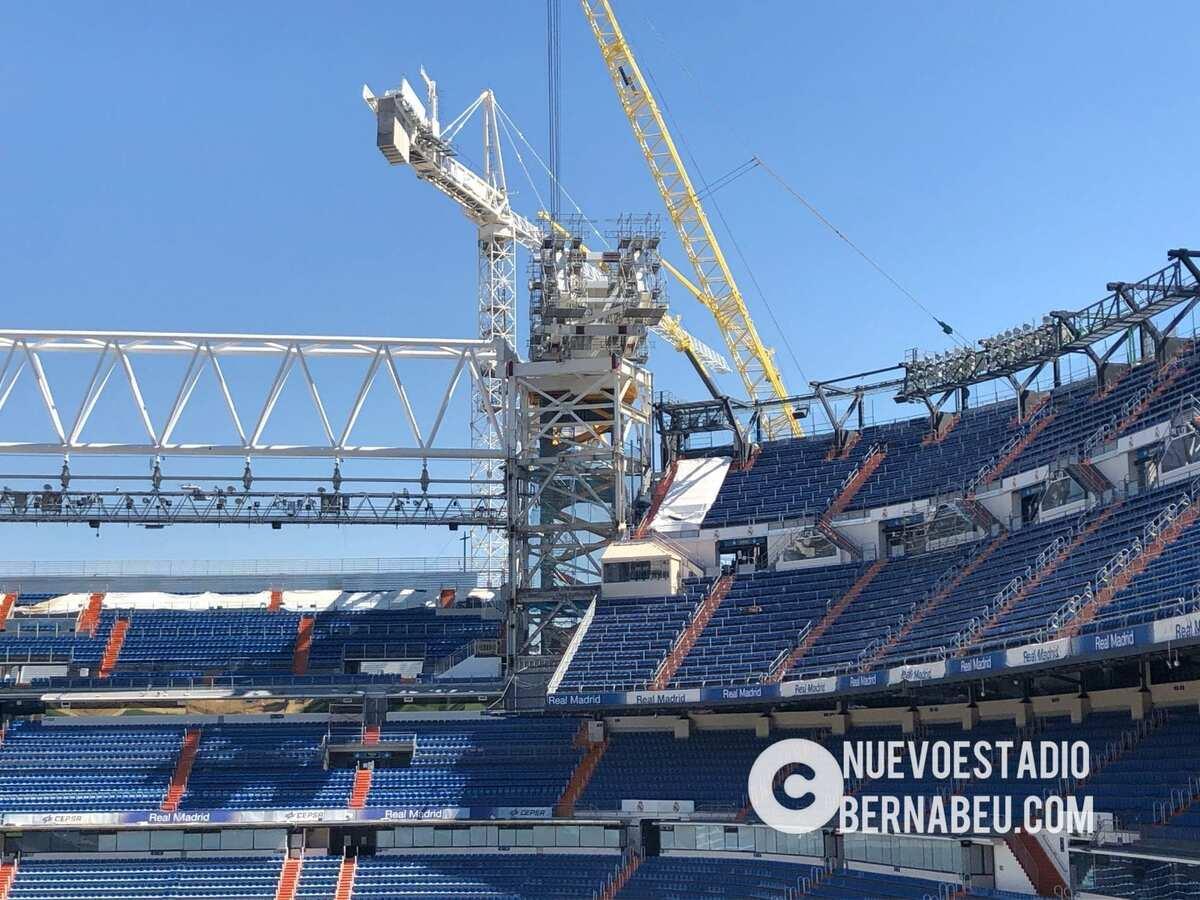 Cercha Norte del Nuevo Bernabéu