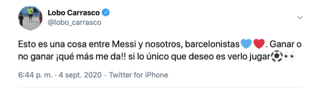 tuit lobo carrasco messi