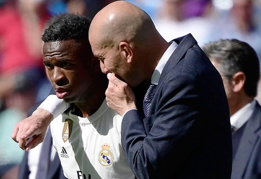 Vinícius y Zidane.