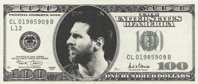 Messi dólar deuda
