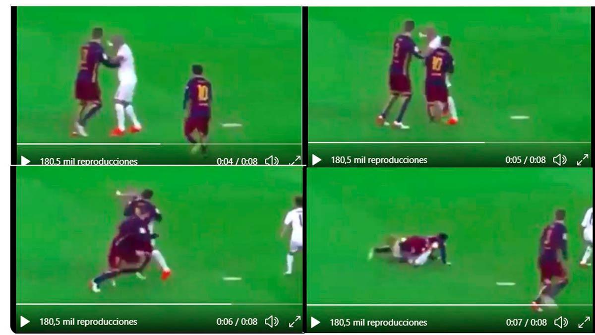 Placaje Messi