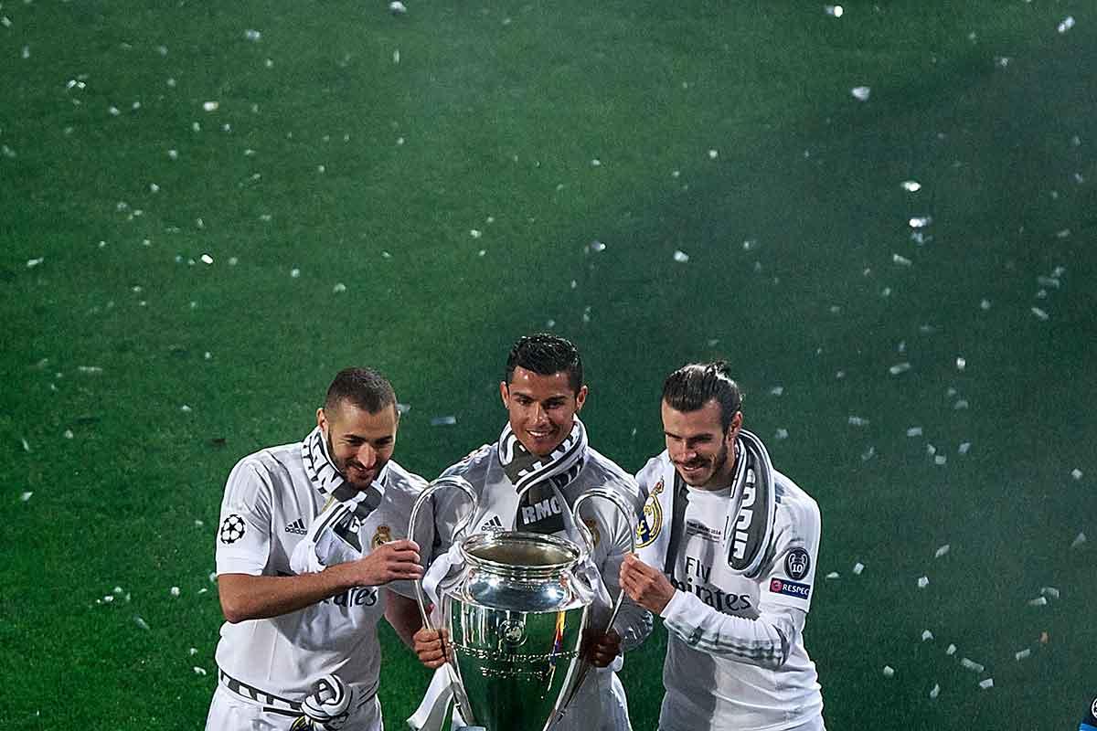 Bale Benzema Cristiano BBC