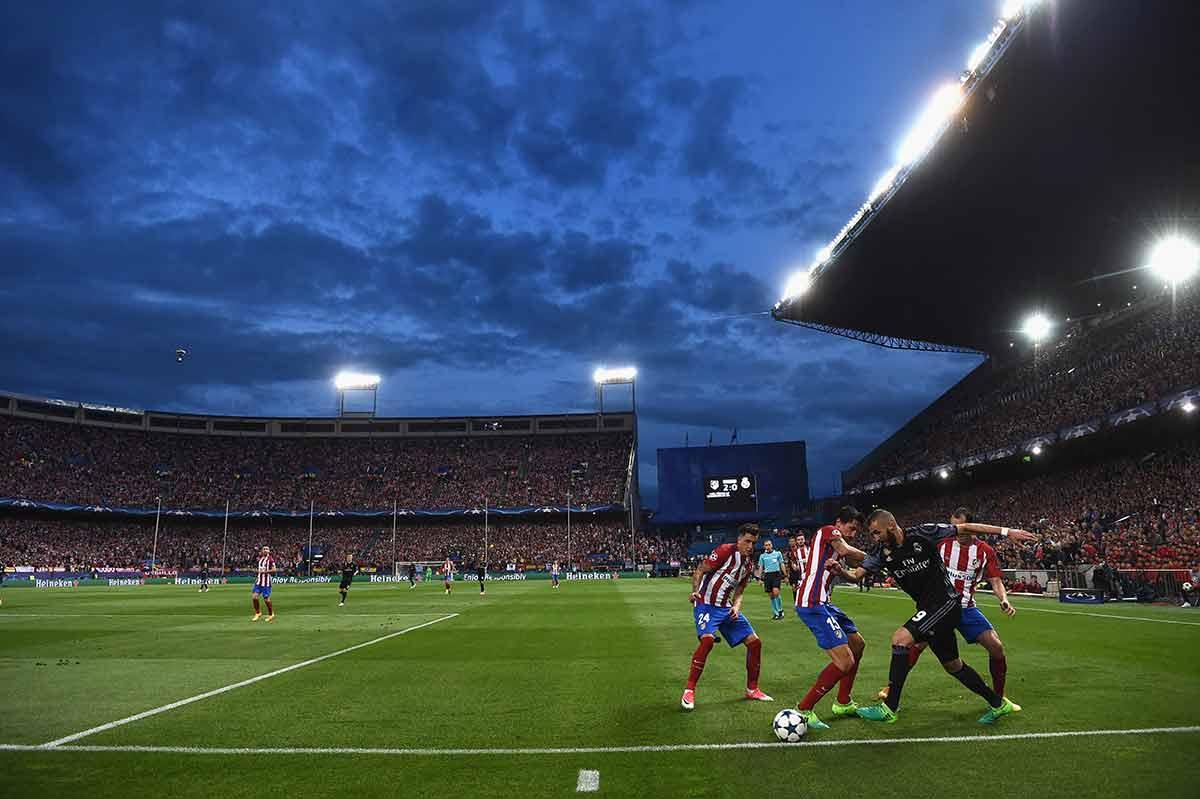 Benzema Atlético Calderón
