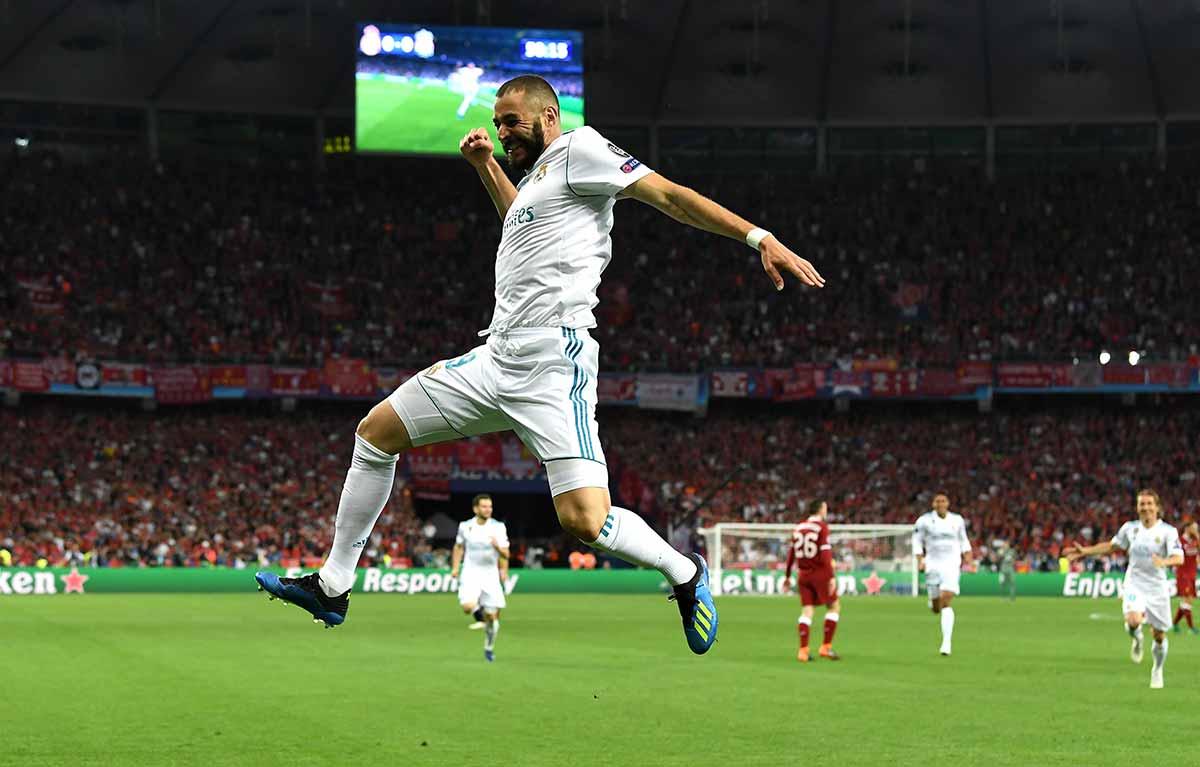 Benzema gol Kiev