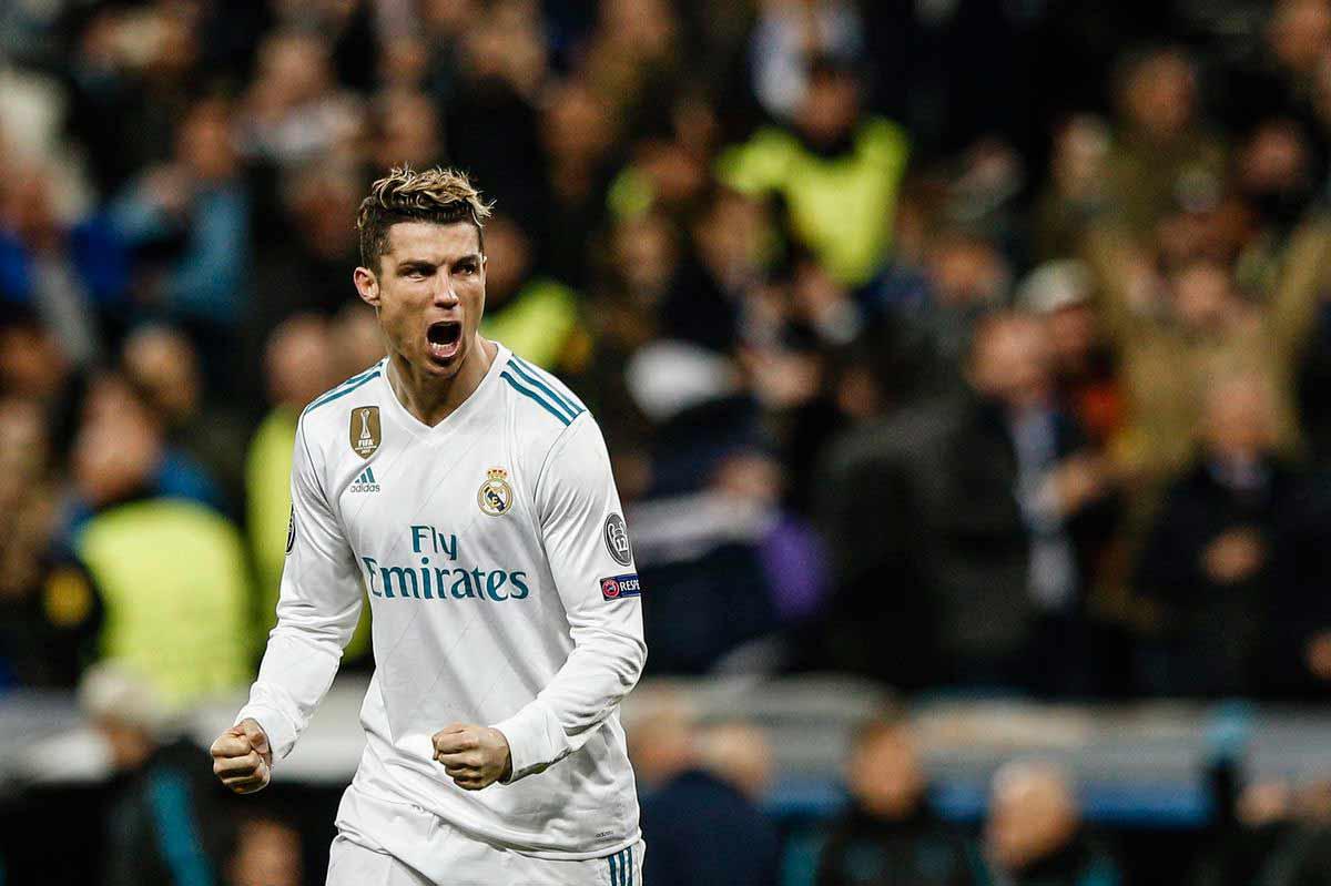 Gol de Cristiano Ronaldo con Real Madrid