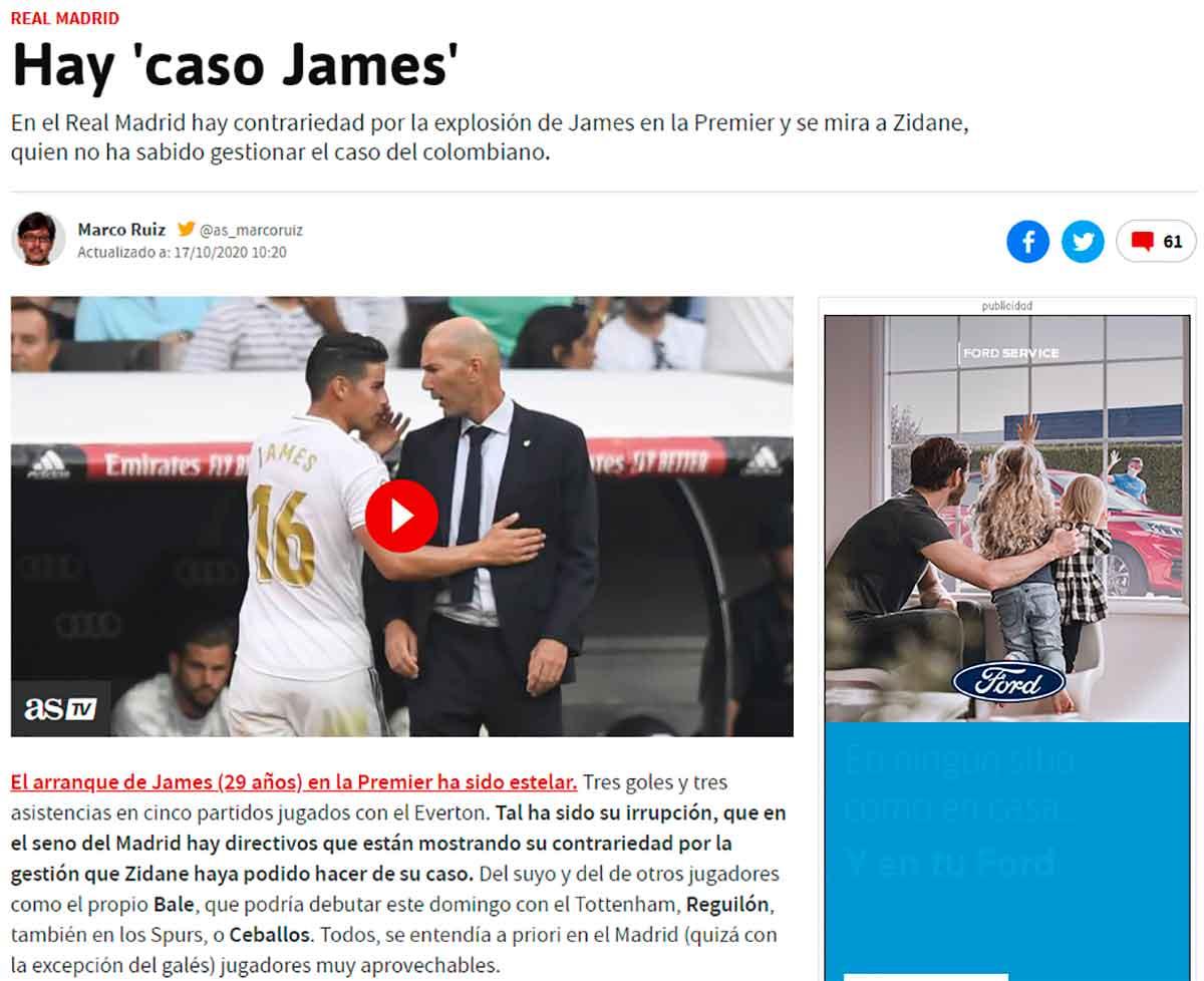 Caso James