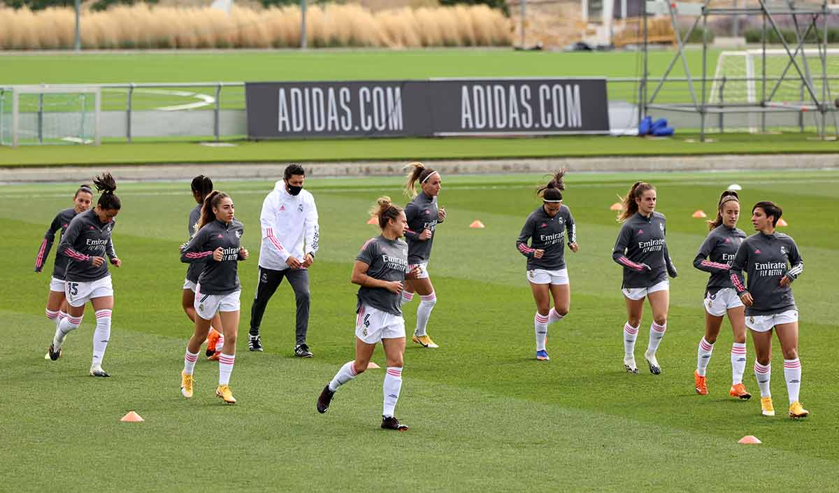 Entrenamiento Real Madrid femenino