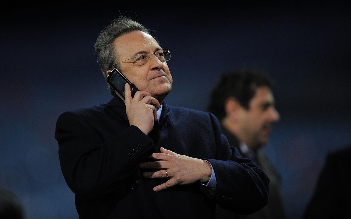 Florentino Pérez teléfono