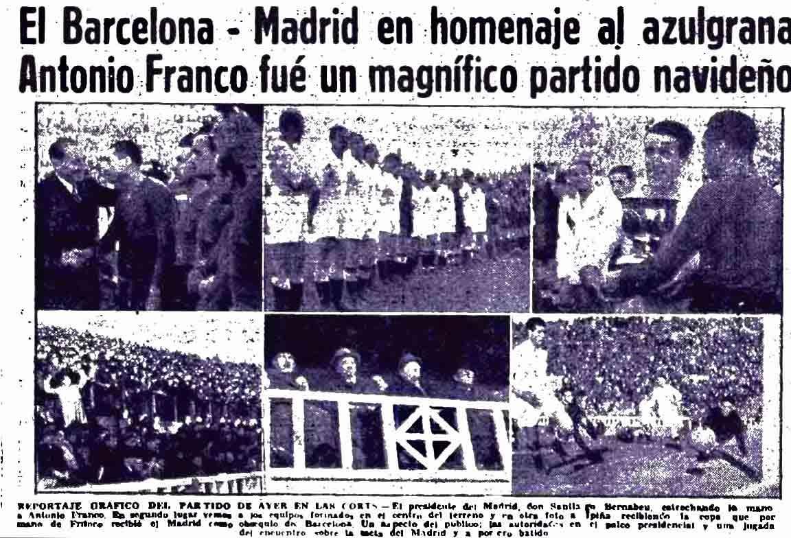 Homenaje Antonio Franco