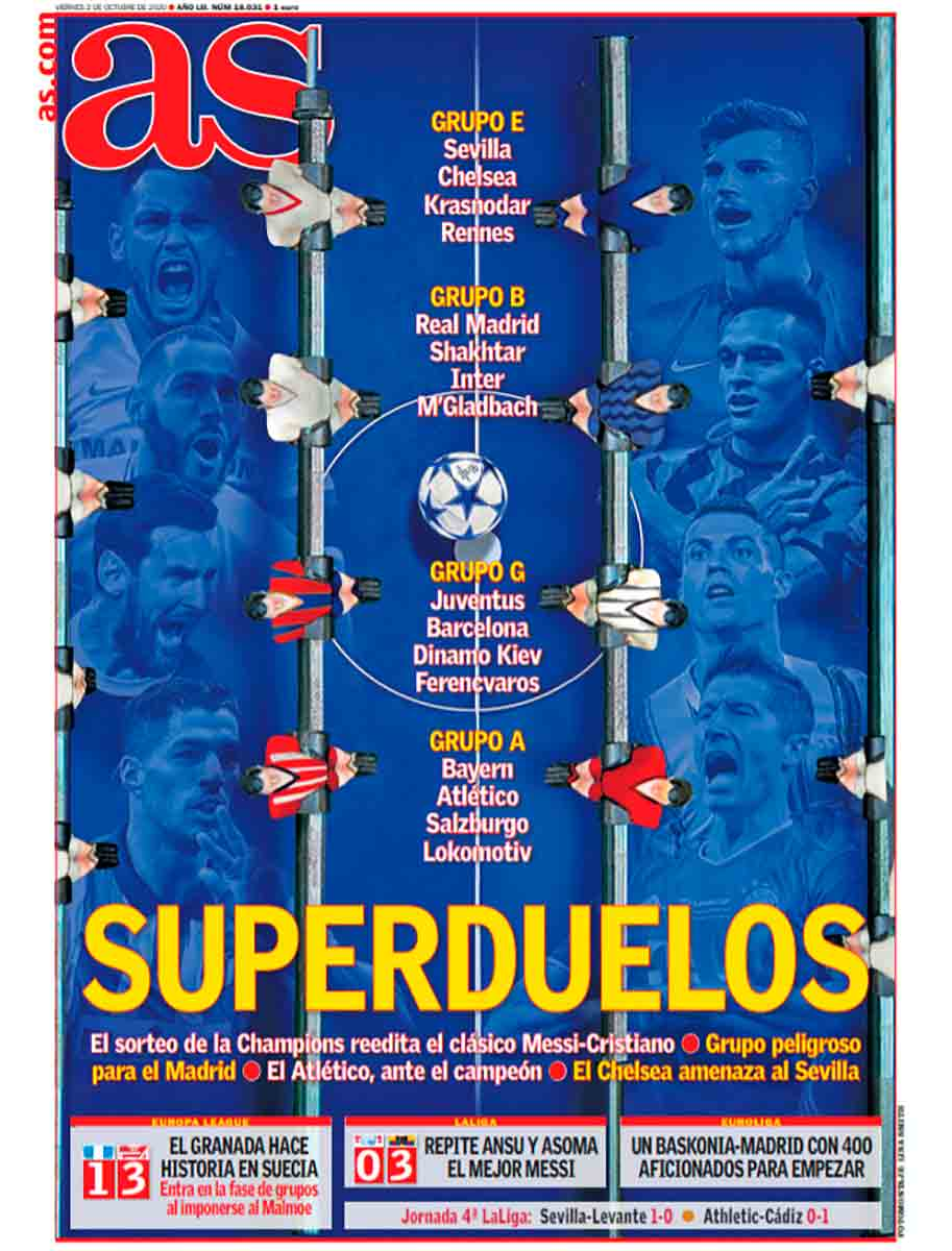 Portada As superduelos