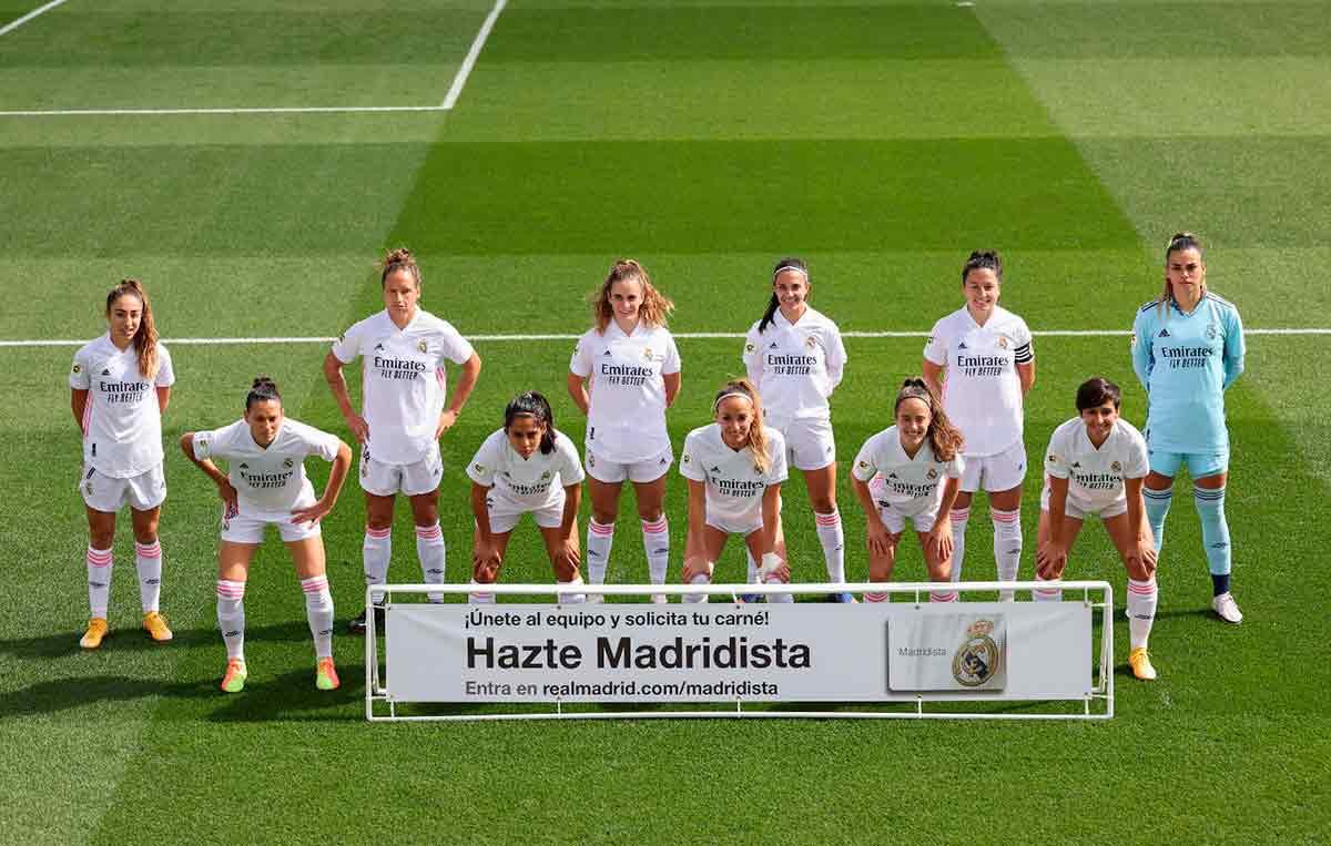 Real Madrid femenino alineación