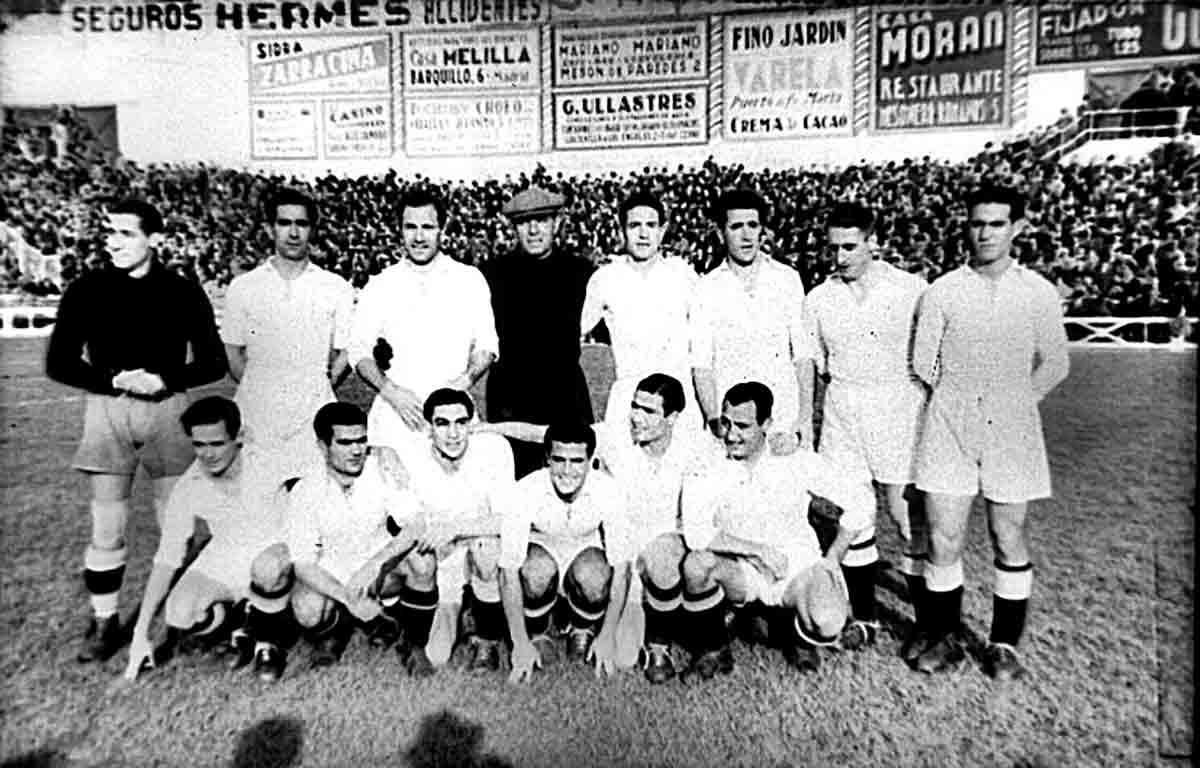 Real Madrid homenaje a Quincoces