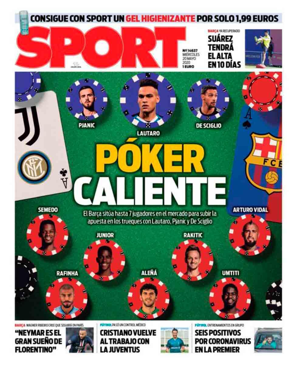 Poker Barça Lautaro