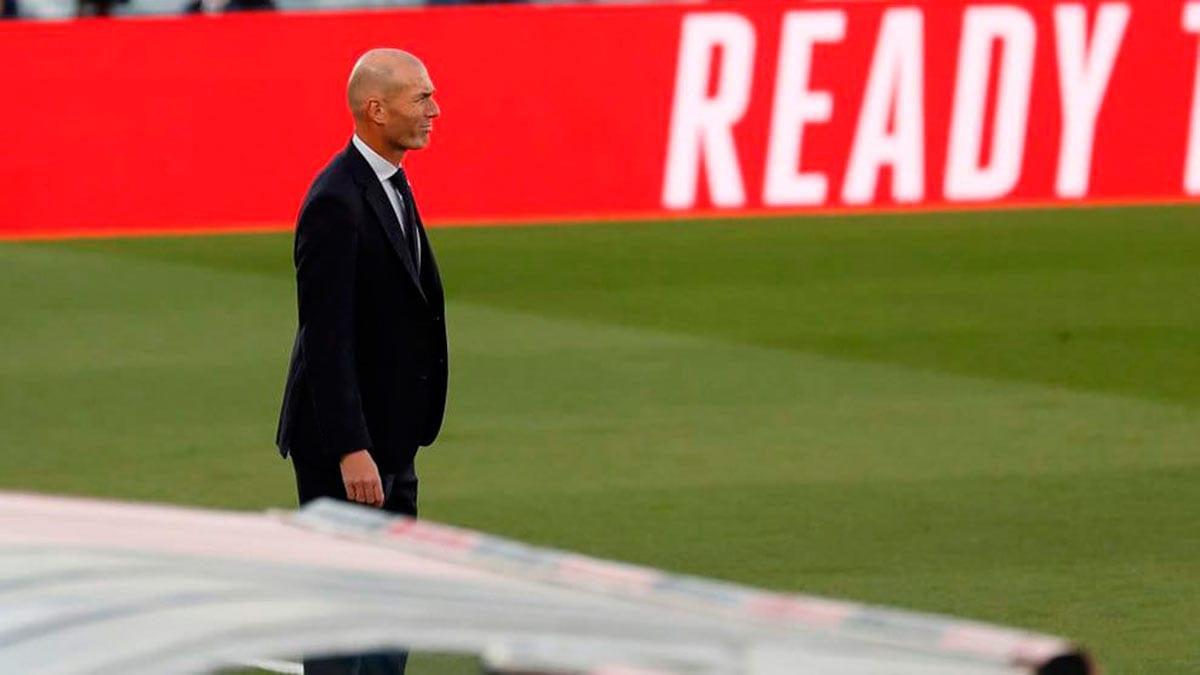 Zidane en la banda
