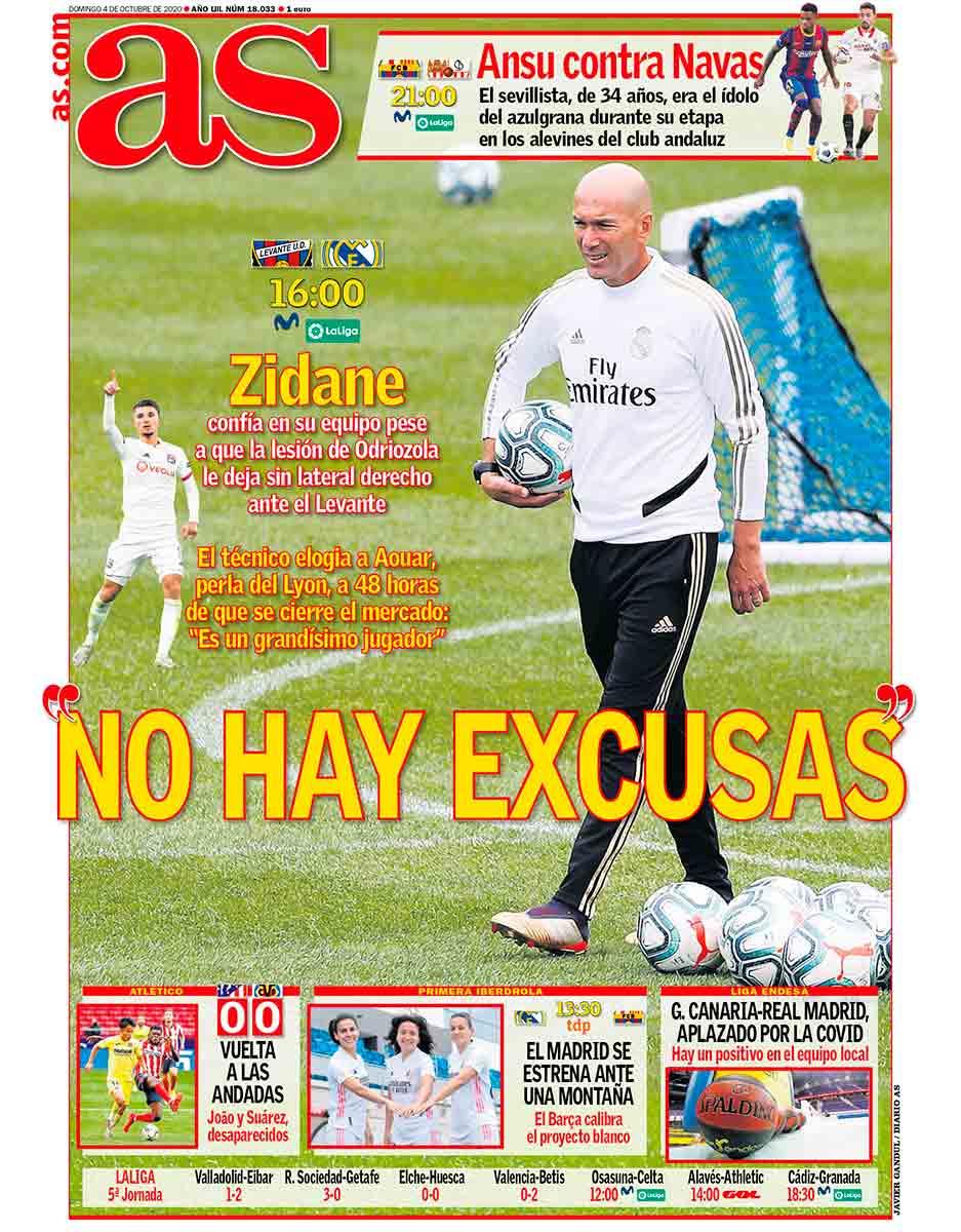 Portada AS Levante Real Madrid