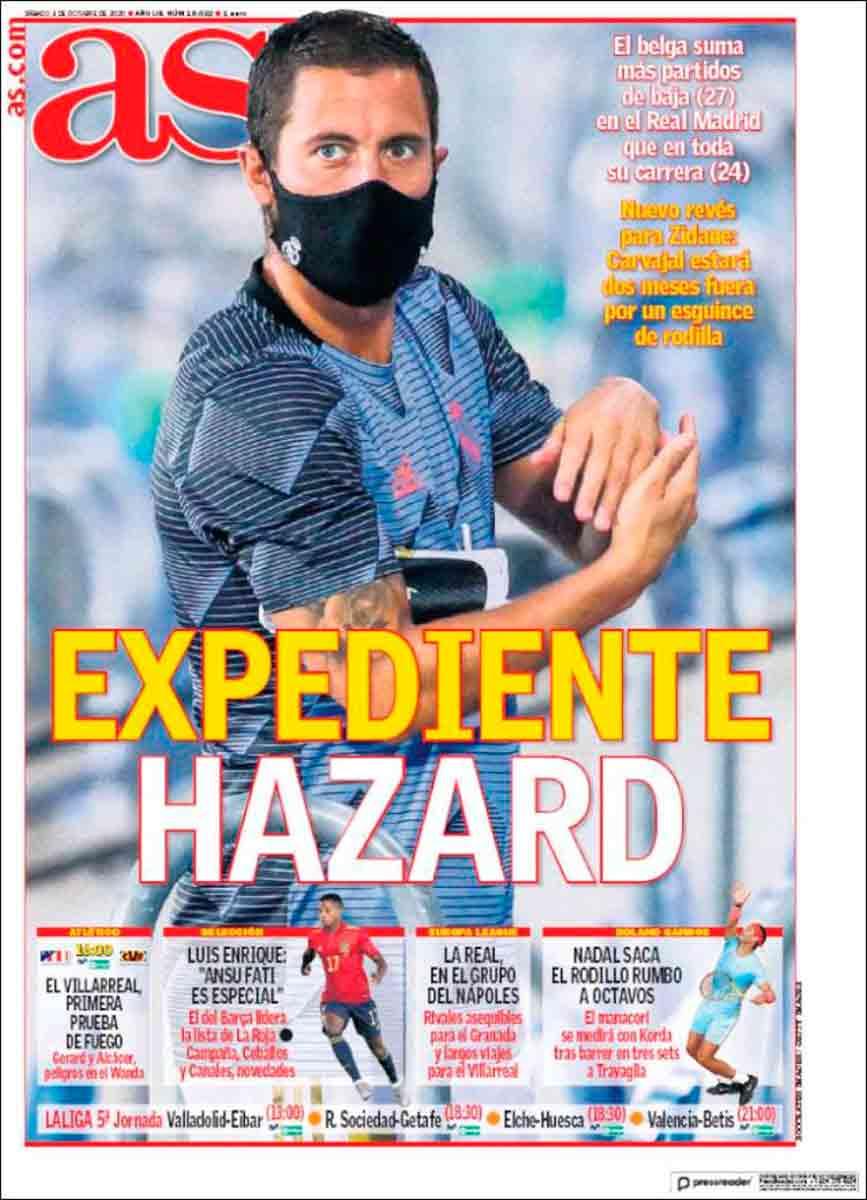 Portada AS expediente Hazard