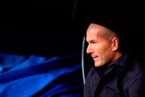 Zidane banquillo