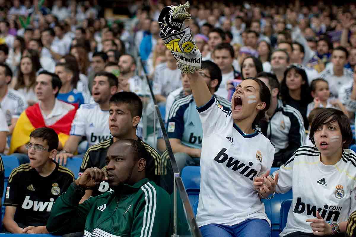 Afición Real Madrid