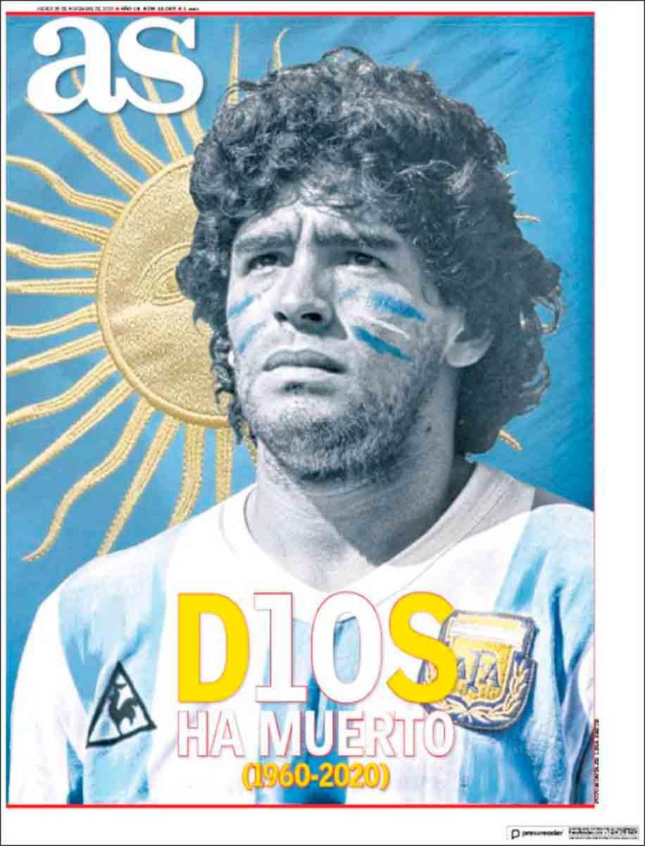 Diario AS Maradona