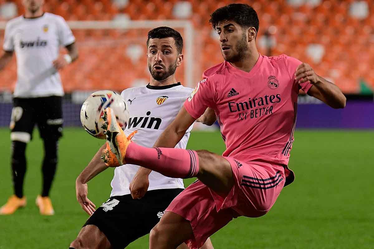 Asensio contra Valencia