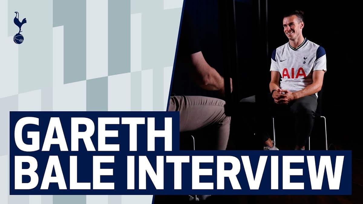 Gareth Bale entrevista televisión