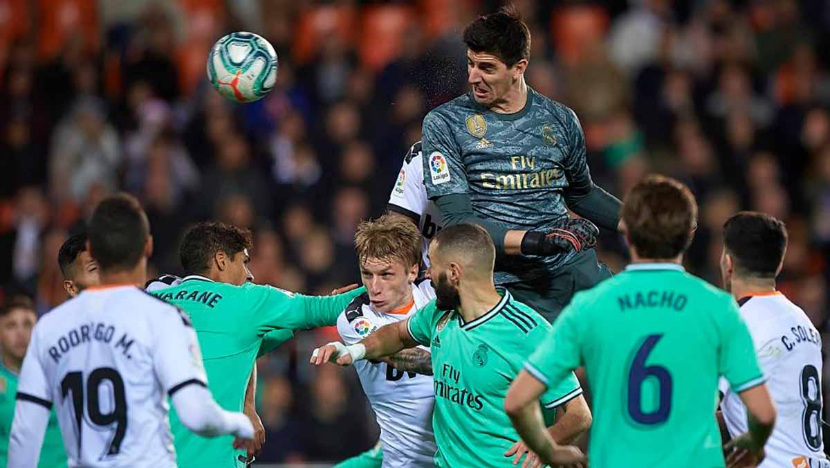 Courtois Valencia gol