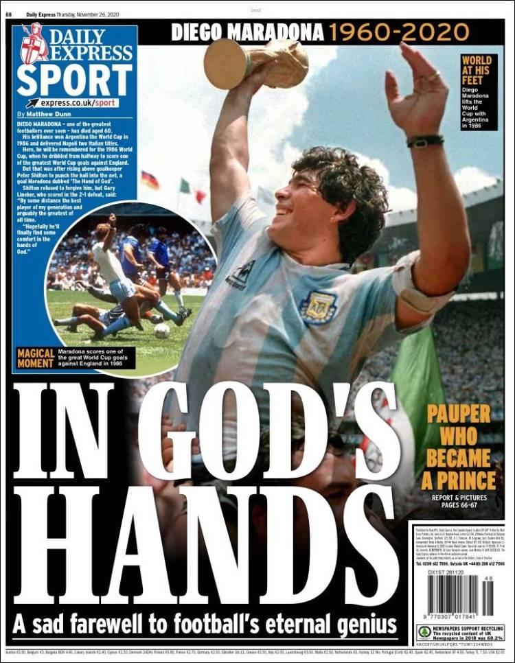 Daily Express Maradona