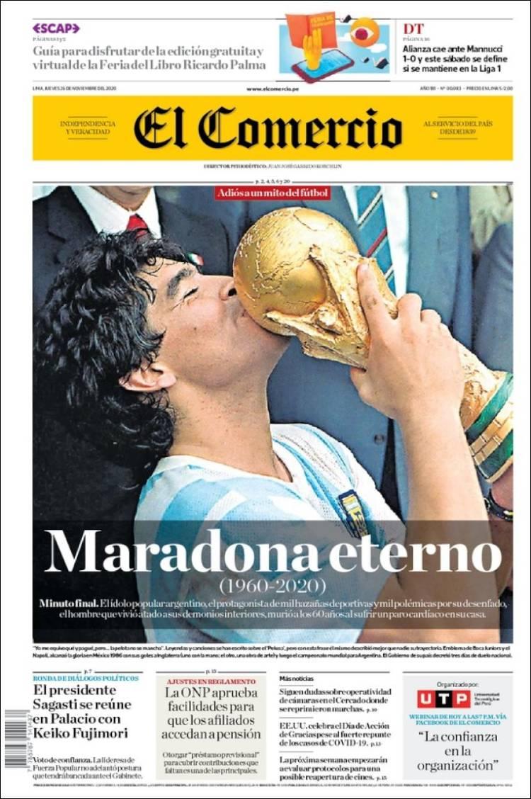 El Comercio Maradona