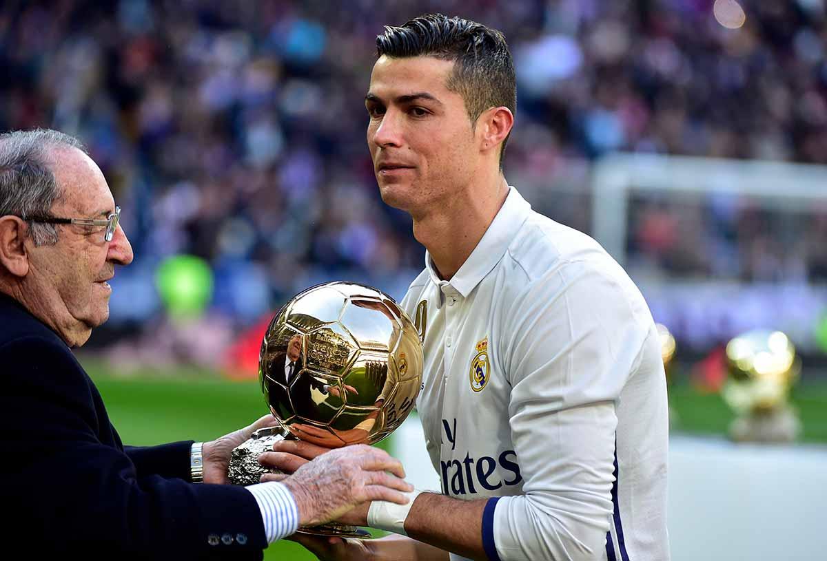 Gento Cristiano Ronaldo Balón de Oro