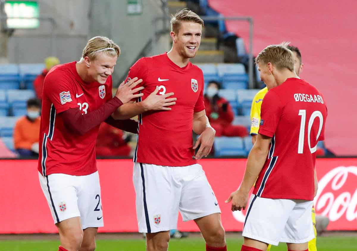 Haaland Ødegaard