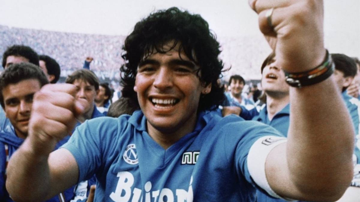 Maradona Nápoles
