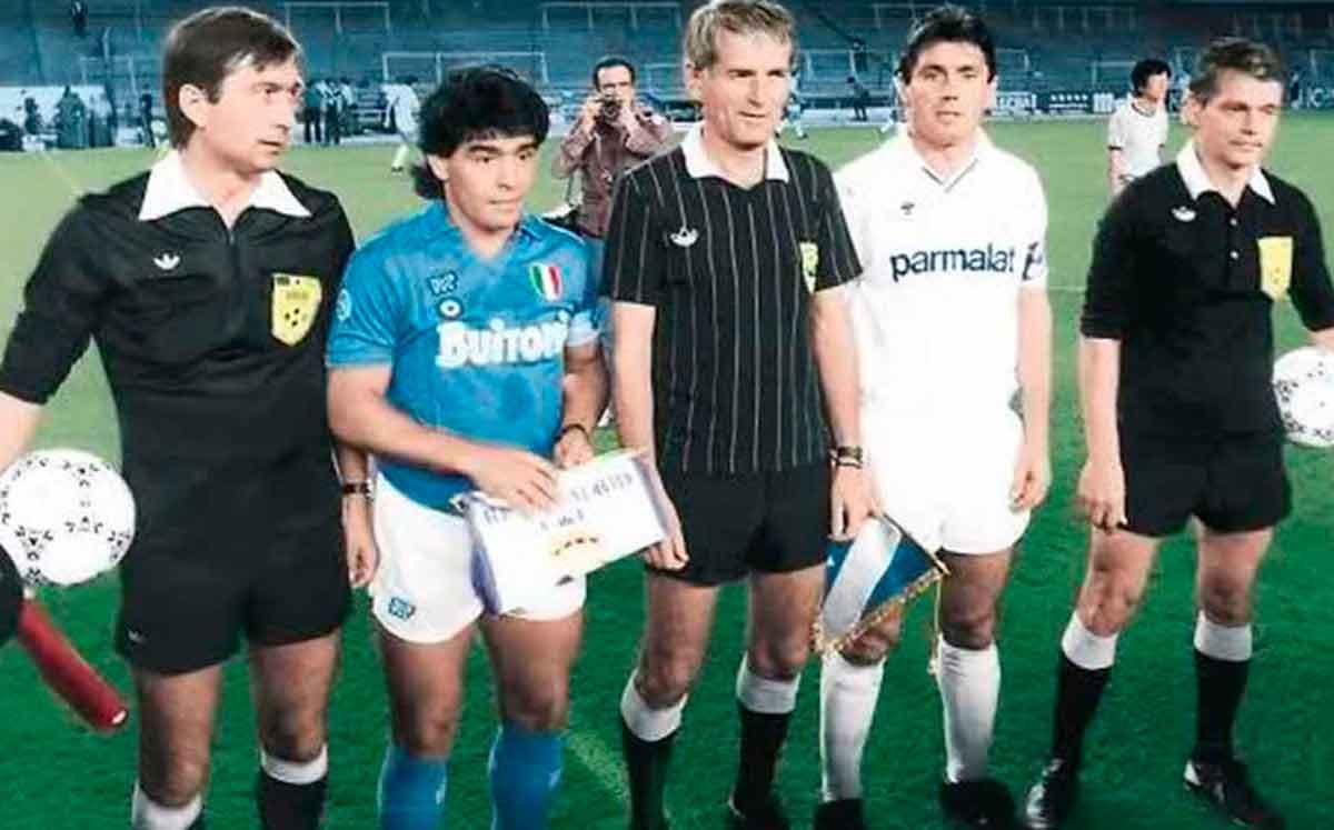 Maradona contra Real Madrid