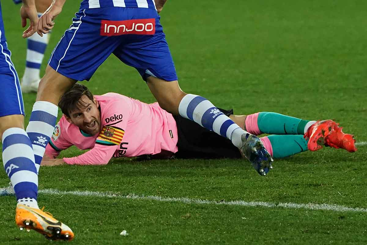 Messi pupa
