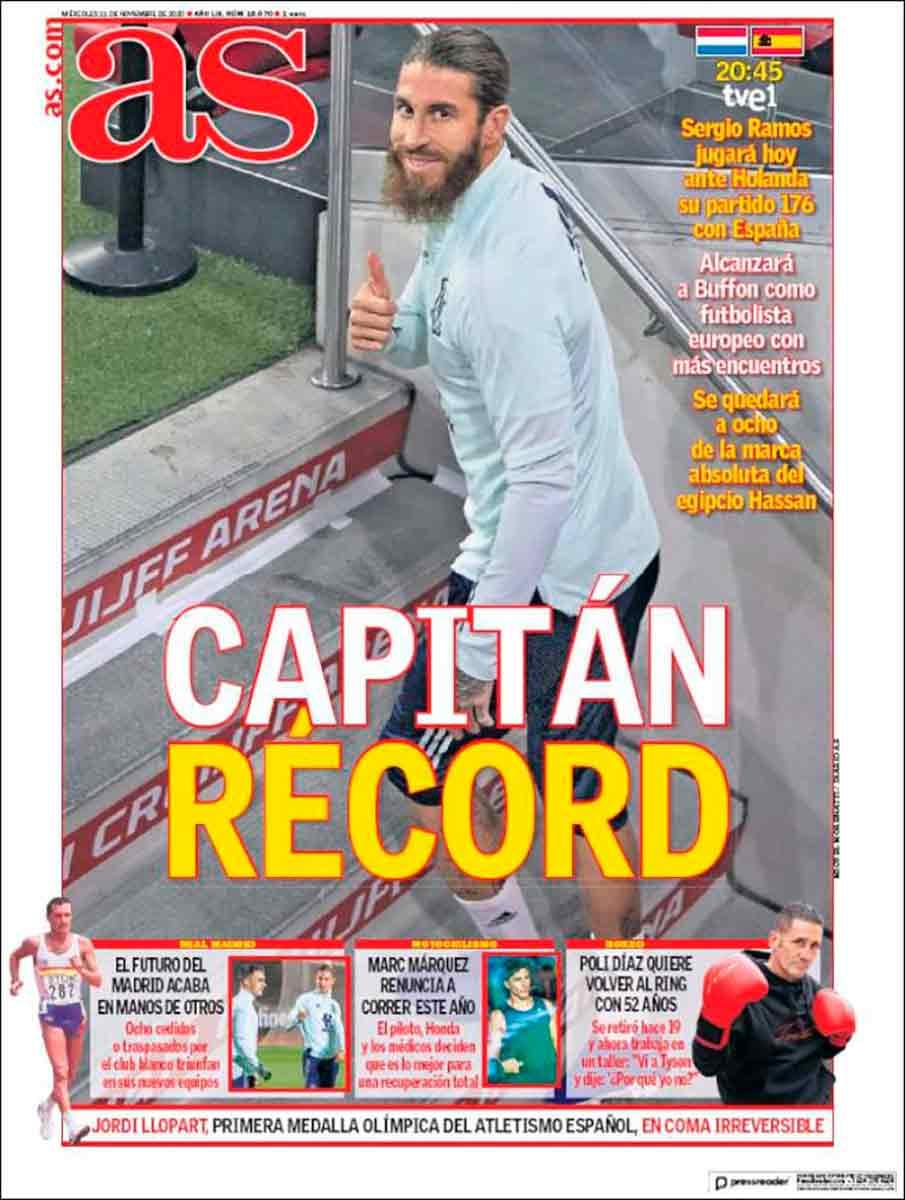 Portada As Ramos récord