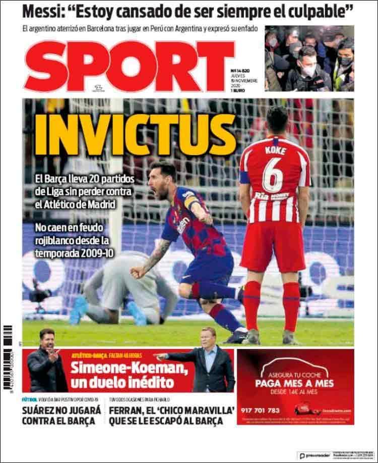 sport invictus
