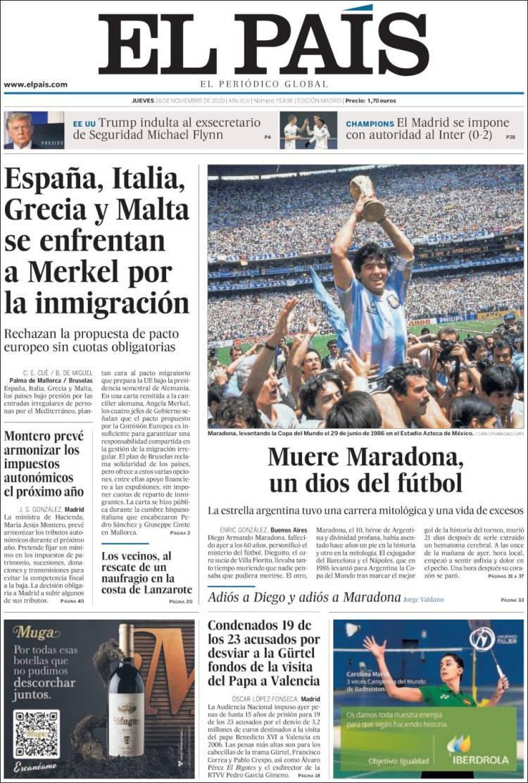 El País Maradona