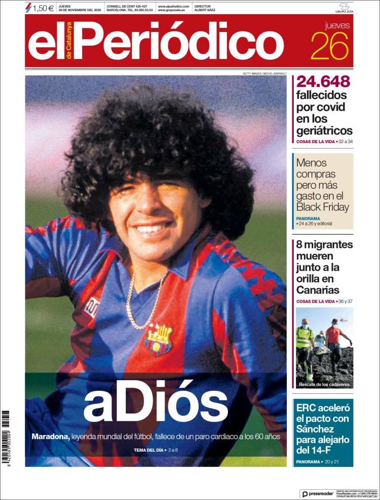 El periodico Maradona