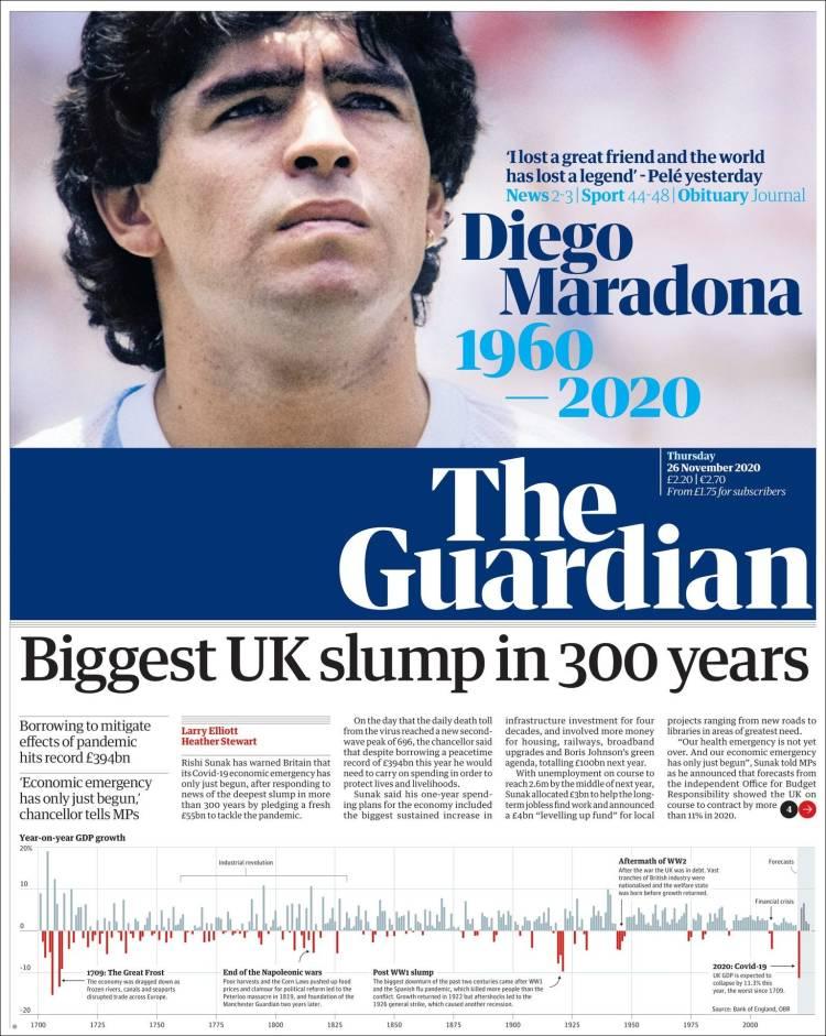 The Guardian Maradona