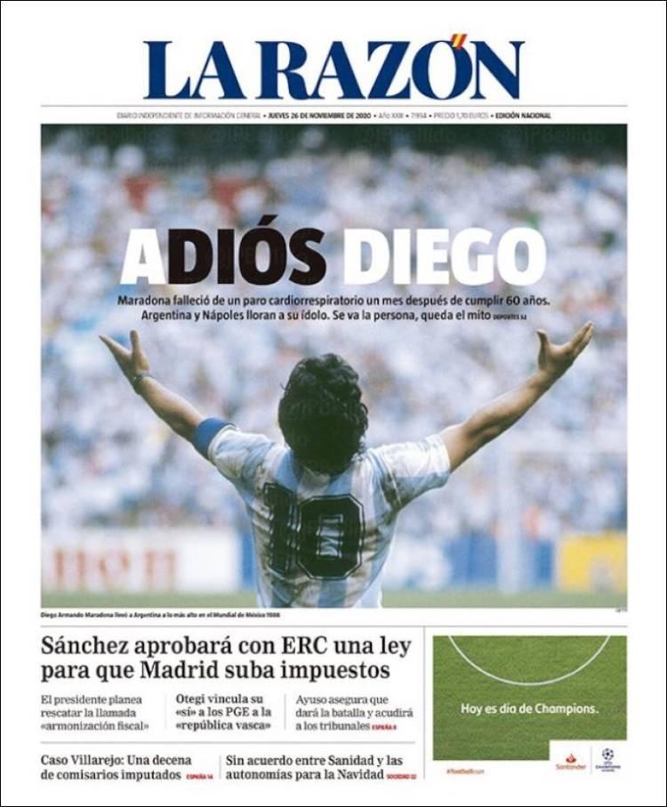 La Razón Maradona
