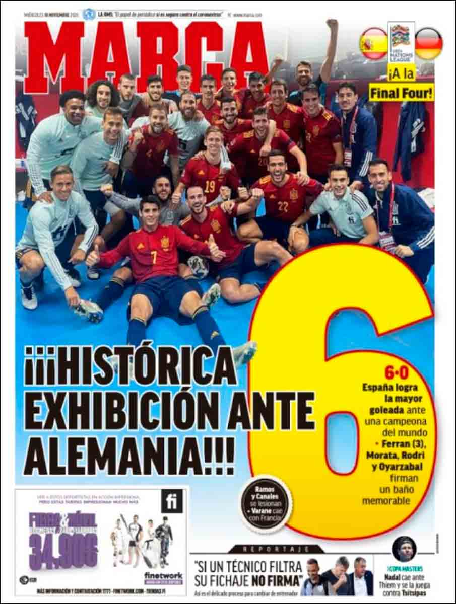 Portada Marca España 6-0