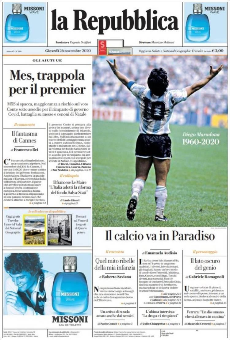 La Repubblica Maradona