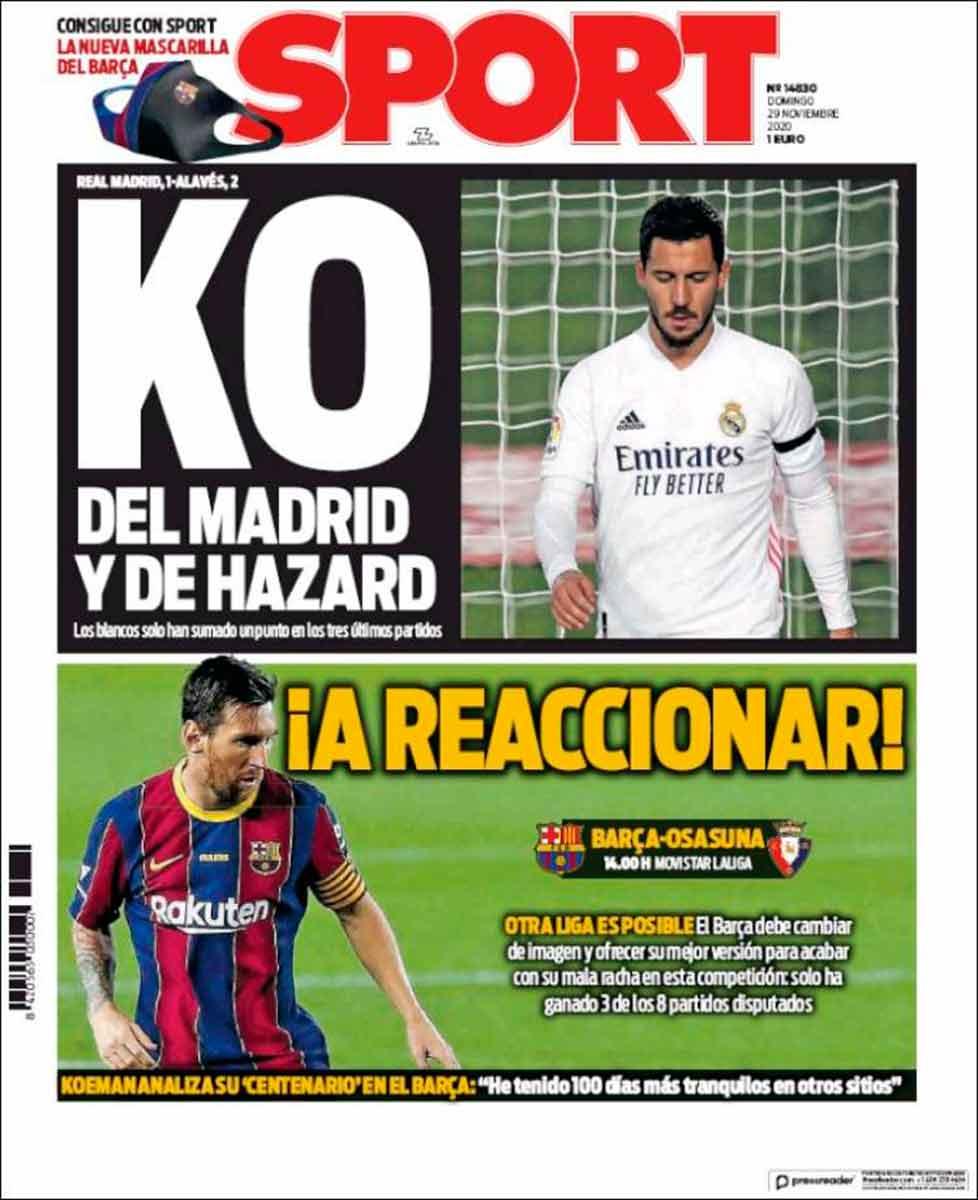 Portada Sport KO Hazard