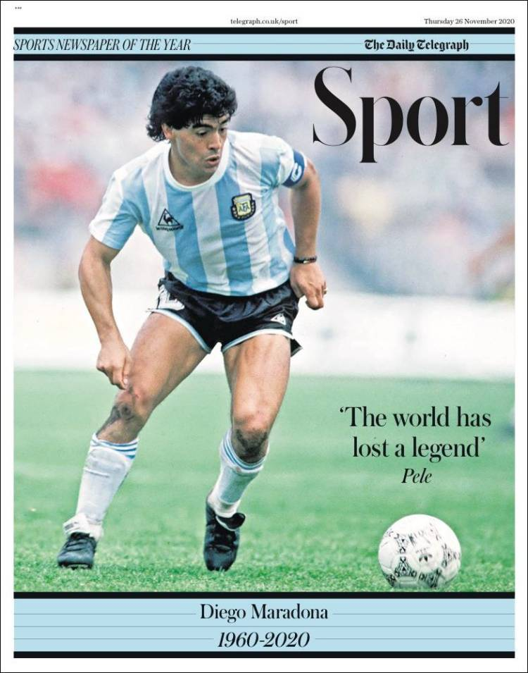Telegraph Maradona