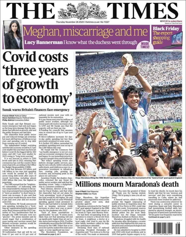 The Times Maradona