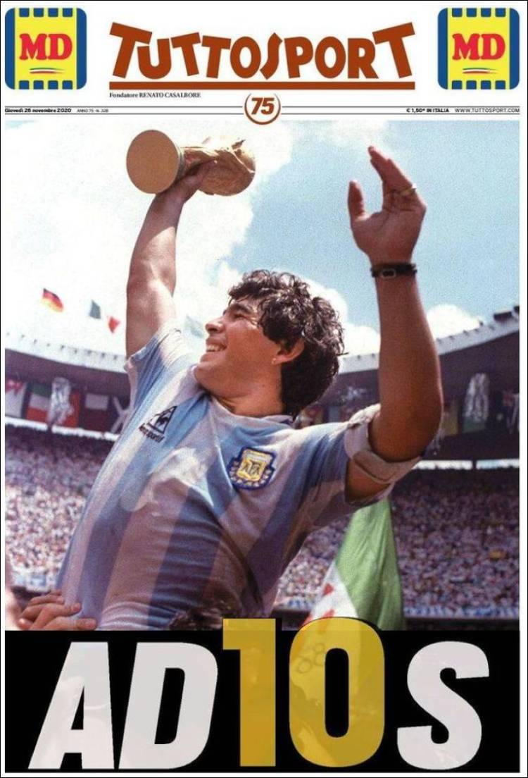 Tutto Sport Maradona